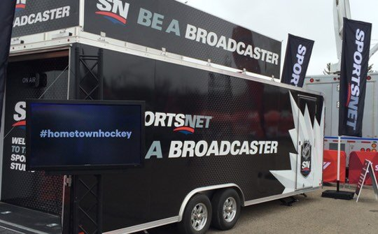Rogers Hometown Hockey - Be a Broadcaster van