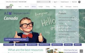 AIM Language Learning - Homepage