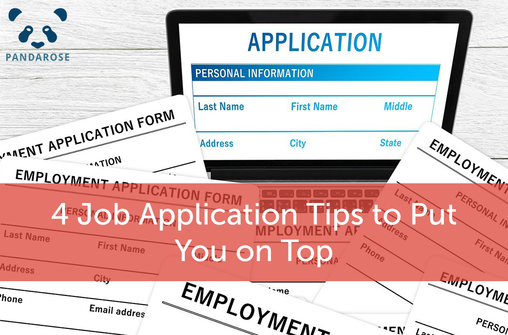 4 job application tips to put you on top; job applications on paper and on computer