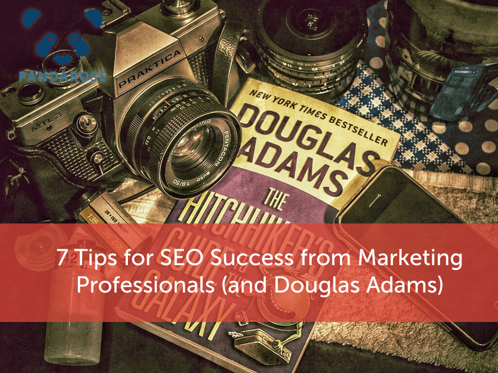 7 Tips for SEO Success from Marketing Professionals (and Douglas Adams)
