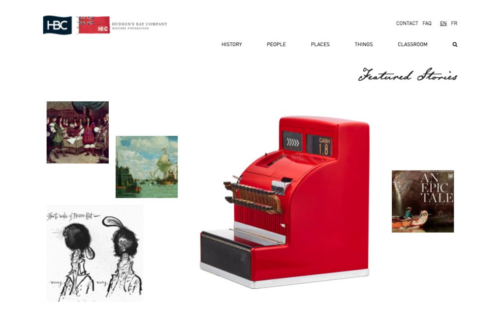 HBC Heritage Homepage