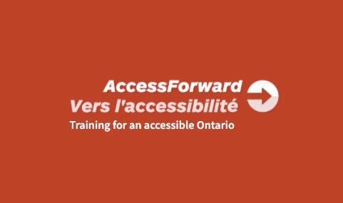 Accessforward - Training for an accessible Ontario