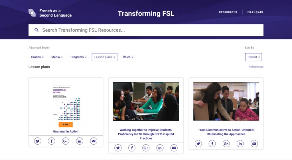 Transforming FSL - Search
