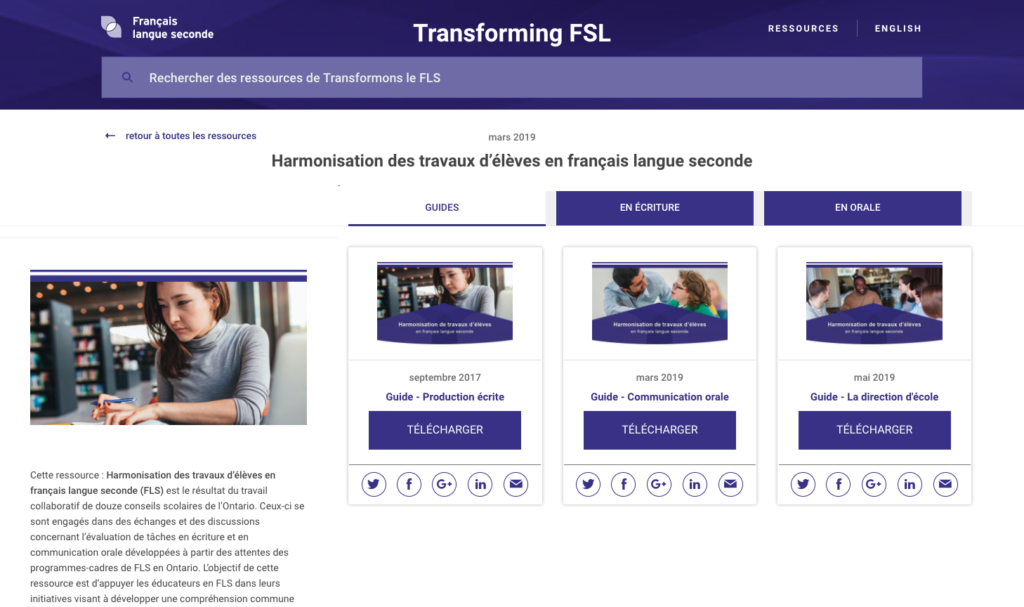 Transforming FSL - home page