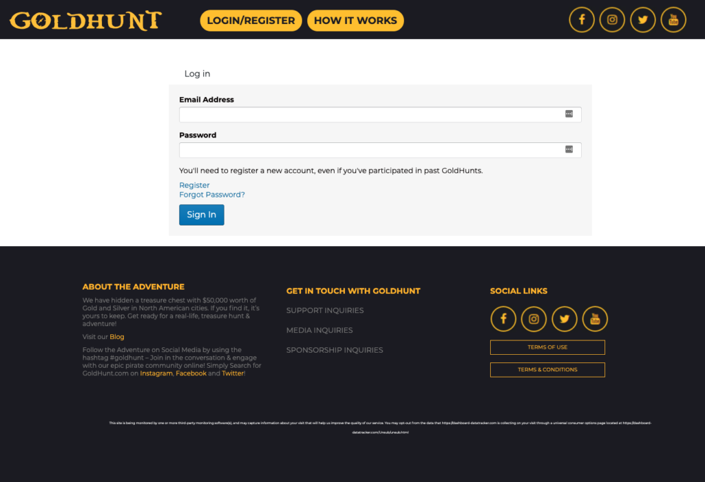 GoldHunt Screenshot